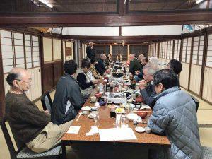 かながわ建築設計大山講20171208/エキスカーション/夜会食